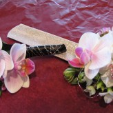 Orchid Corsage and Boutonniere
