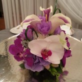 Purple Calla Cake Topper