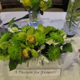 Chartreuse Green Centrepiece