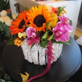 Modern Harvest Arrangement